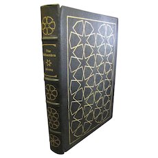 "1978 Limited Edition ""The Alhambra"" by Washington Irving,Leather,Easton Press‏"