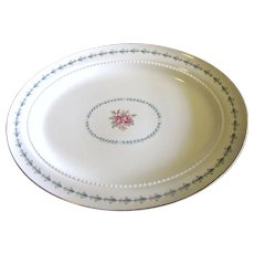 """Harmony House Mount Vernon 13"""" Platter By Hall China"""