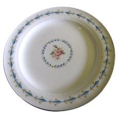 "Harmony House Mount Vernon 6 1/4 "" Bread Plate By Hall China"