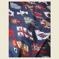 "88"" Remnant of Flag Design 10 Color Porch Fabric, Fun!"