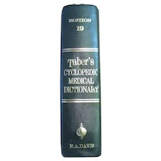 Taber's Cyclopedic Medical Dictionary 19th Edition