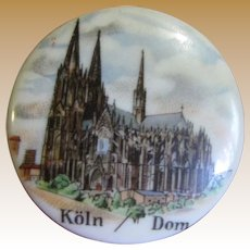 Porcelain & Cork Bottle Stop by Reutter, Cologne Cathedral