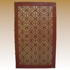 Poems of John Keats, Leather Bound, 1980, Beautifully Illustrated