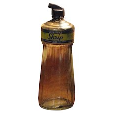 1950's, Large Sheaffers Skrip Ink Bottle, with Original Lid/Applicator