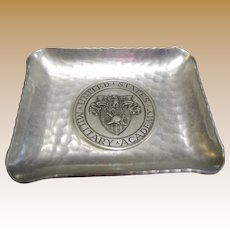 US Military Academy Ash or Trinket Tray by Sigg Sigal of Switzerland