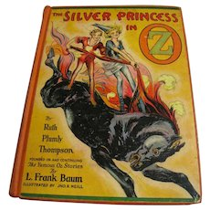 1938 The Silver Princess in Oz By Ruth Plumly Thompson (L. Frank Baum), 1st‏. Edition,