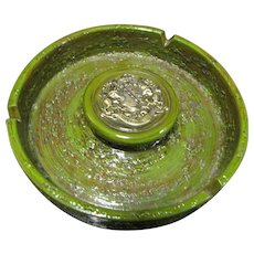 Rosenthal-Netter Italian Pottery Mid-Century Ashtray, Mint