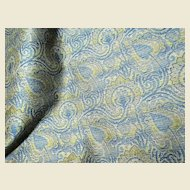 """100"""" Bolt End of Fully Woven Paisley Brocade"""