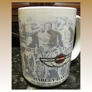 Nice Harley Davidson Collectors Mug, Great Decals!