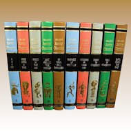 Colliers Junior Classics, Lot of 10 Books, 1962