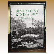 Beneath so Kind a Sky, rare first edition, Historical South Carolina