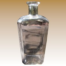 Antique Medicine Bottle, 1840's - 1850's