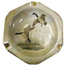 Royal Crown Lusterware Canadian Geese Pattern (3933)  Ashtray