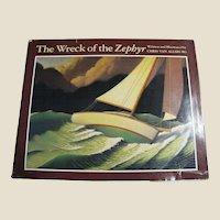 Wreck of the Zephyr by Chris Van Allsburg, 1983, 1st Edition