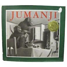 Jumanji by Chris Van Allsburg (1981, Hardcover w/DJ)