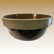 Vintage Stoneware Pottery Mixing Bowl by Monmouth Pottery