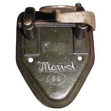 """Circa 1920's 2 Hole Punch """"Marvel 60"""" Made of Cast Iron"""