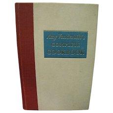 Amy Vanderbilt's Complete Cookbook- Andrew(Andy)Warhol