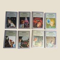 """1960's, 8 Books """"Nancy Drew Mysteries"""" by Carolyn Keene"""
