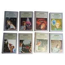 "1960's, 8 Books ""Nancy Drew Mysteries"" by Carolyn Keene"