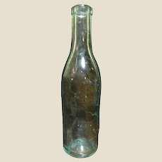1860's Aqua Green Bottle, Spring Water / Soda , Extremely Rare