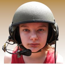 U.S Army Combat Vehicle Crewman Helmet, Small