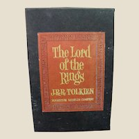 JRR Tolkien's Lord of the Rings Trilogy, 3 Vol. Slipcased, 2nd Edition
