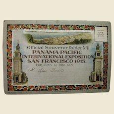 1915, Panama Pacific International Exposition San Francisco, Official Souvenir Folder No. 11