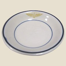 Vintage US Navy Naval Aviation Commissioned Officers Mess Berry, Side or Condiment Bowl‏