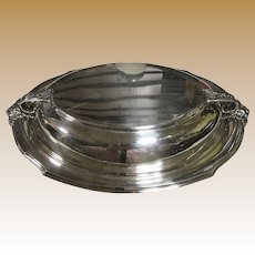 NIce Double/Lidded Silver Plated Serving Dish by Webster Wilcox