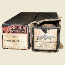 Antique Player Piano Music Rolls in Original Boxes