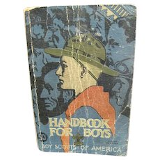 Boy Scouts of America Handbook for Boys, 1st Edition 30th printing November 1938.