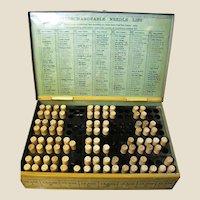 1915, New Simplicity Needle Case, Model C