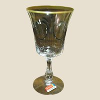 """Fostoria Richmond Water Goblet 6 3/4"""", Mint (up to 7 available)"""