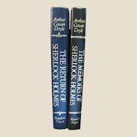 The Memoirs & The Return of Sherlock Holmes by Arthur Conan Doyle, Like New