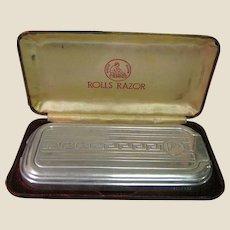 Vintage Viscount Model Rolls Razor Made in England, The Ultimate Shaving Combo Kit