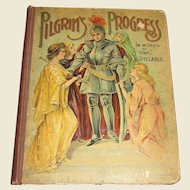 Pilgrims Progress In Words Of One Syllable by Mary Godolphin (circa 1870's) , Hurst & Company Publishers