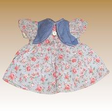 """Cute Little 6"""" Cotton Factory Doll Dress"""