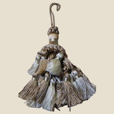 New Old Stock BEIGE/CREAM Multi-Layered Large Key Tassel (up to 4 available )