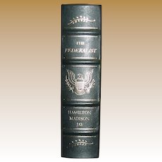The Federalist by Hamilton Madison Jay, Leather Bound, Like New