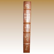 The Declaration of Independence by Carl Becker, Leather Bound, Like New
