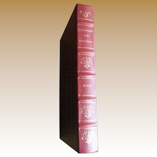 Jefferson and Madison by Adrienne Koch, Palladium Press Special Edition Printing for Members of The Library of American Freedoms. Leather Bound, Like New