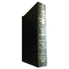 The Life of Patrick Henry by William Wirt, Leather Bound, Mint!
