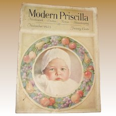 Modern Priscilla Magazine, November 1923