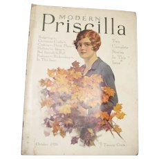 Modern Priscilla Magazine, October 1926