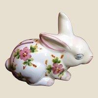 Vintage Andrea by Sadek Portuguese Hand Painted Bunny Bank