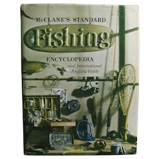 1965 1st Edition, McClane's Standard Fishing Encyclopedia and International