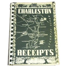 Charleston Receipts by the Junior League of Charleston South Carolina. This 1950 edition was from the September 1976, twenty first printing, Cookbook
