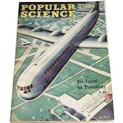 September 1946 Popular Science Magazine- Air Travel, Piper Skysedan, Atomic Bomb