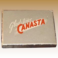 "Vintage 2 Decks of Playing Cards - ""Gladstone Canasta"" - (Woodpecker)"